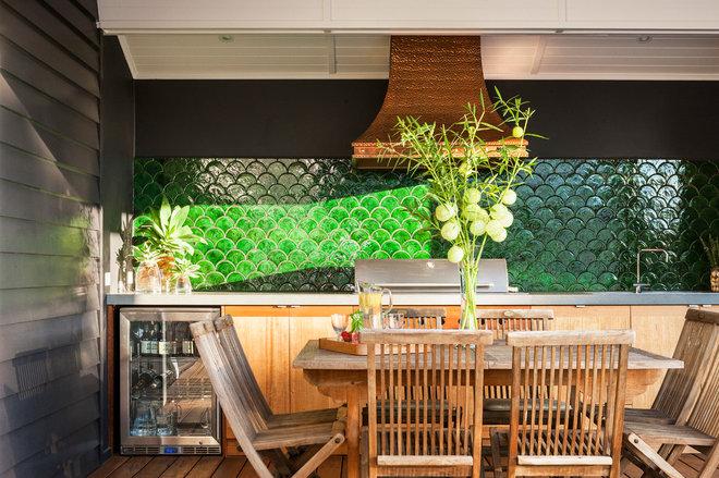 Beach Style Deck by Acorn Garden Houses