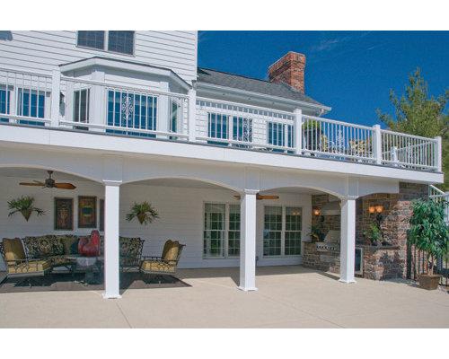Terrasse mit Outdoor-Küche St. Louis Ideen, Design & Bilder | Houzz