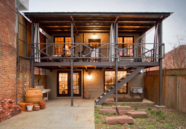 Industrial Terrace by Bennett Frank McCarthy Architects, Inc.