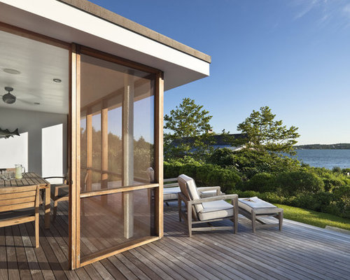 Waterfront Deck Houzz