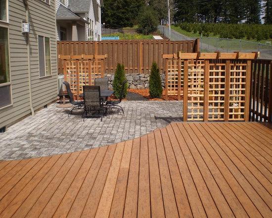 deck patio ideas | houzz - Patio And Deck Ideas