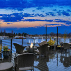 Outdoor Living Spaces - Contemporary - Deck - Portland ... on Rk Outdoor Living id=48479