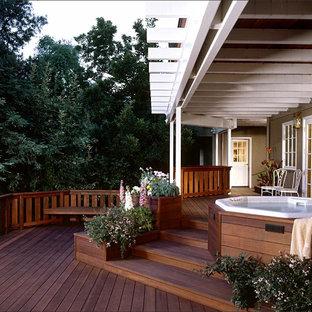 Private Redwood Deck