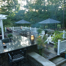 Traditional Deck by THE OHIO VALLEY GROUP, INC.
