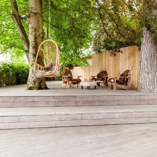 Private Terrace in Munich; Kebony Clear Deck