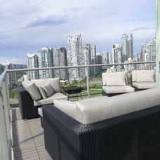 Modern Deck by Janice Girard Design
