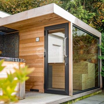 Project Outdoor Sauna + Outdoor Shower