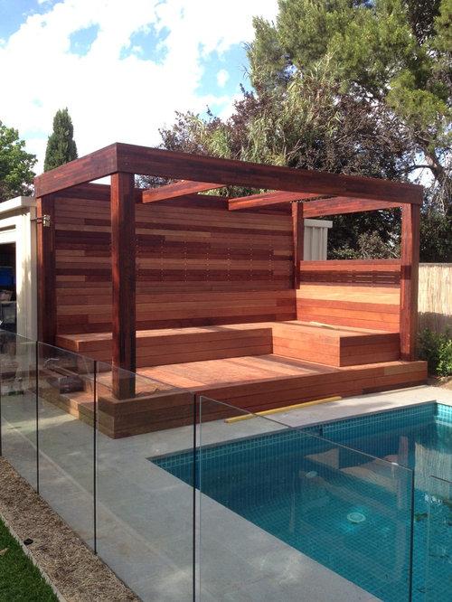 Große Terrasse Adelaide - Ideen Für Die Terrassengestaltung | Houzz 18 Ideen Inspirationen Pool Im Haus