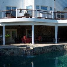Traditional Deck by Matthew Bowe Design Build, LLC