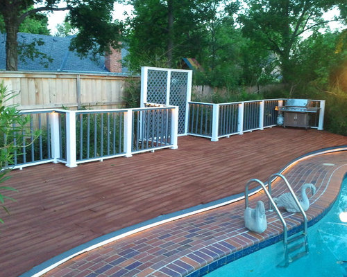 Mediterranean oklahoma city deck design ideas remodels for Mediterranean deck designs