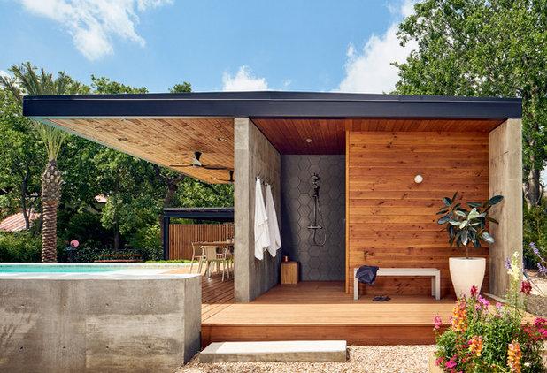 Contemporary Deck by Matt Garcia Design