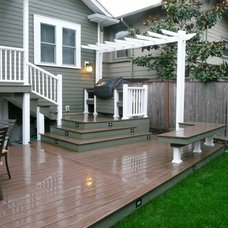 Traditional Deck by Snowridge Remodeling