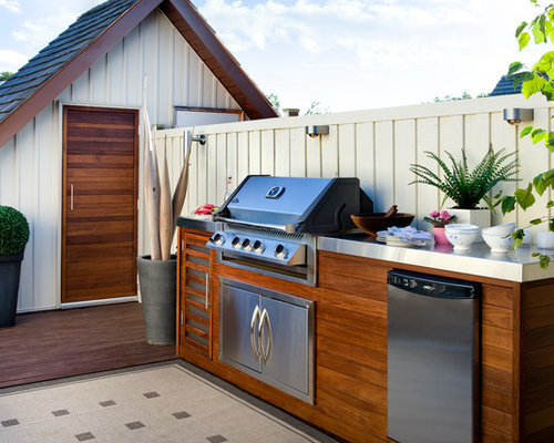 Best Wood Clad Bbq Island Design Ideas Amp Remodel Pictures