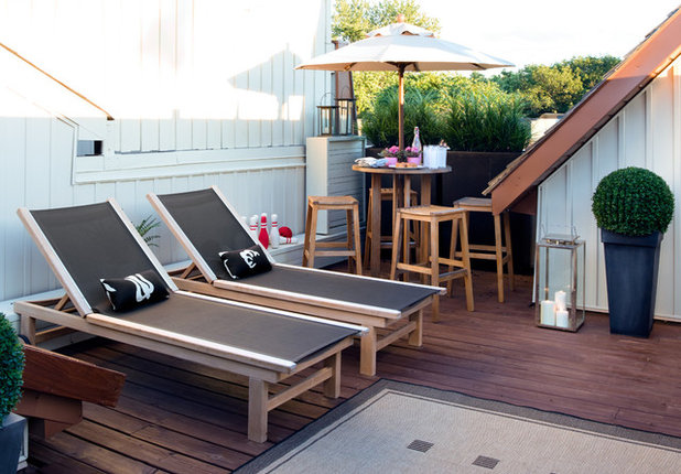 Contemporary Deck by Terra Firma Design