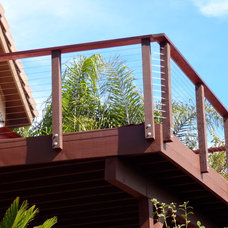 Contemporary Home Fencing And Gates by San Diego Cable Railings