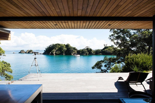 100 of the best new zealand homes on houzz - Maison industrielle dorrington architects ...