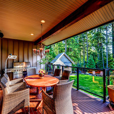 Traditional Deck by Marcraft Homes