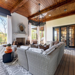 Rear Deck - Mike Ford Custom Homes - Witherspoon Parade Model