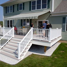 Traditional Deck by Otter Creek Awnings and Sunrooms