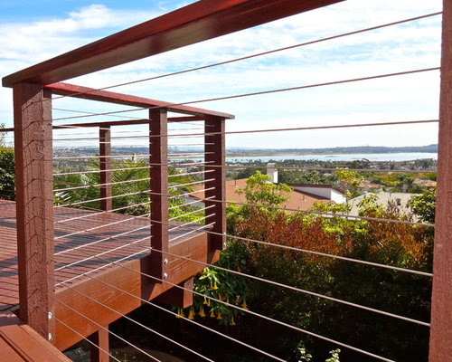 Wooden Cable Railing Systems