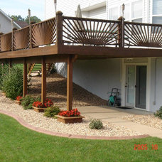 Traditional Deck by Curb Appeal