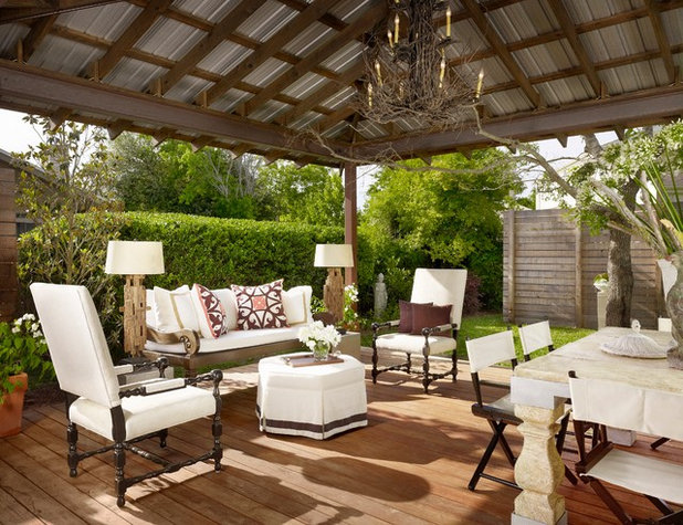 Traditional Deck by Laird Jackson Design House, LLC.