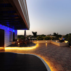 contemporary patio by YOGESH WADHWANA