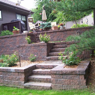 Example of a backyard deck design in Grand Rapids