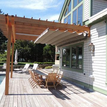 Retractable Shade, Cape Cod