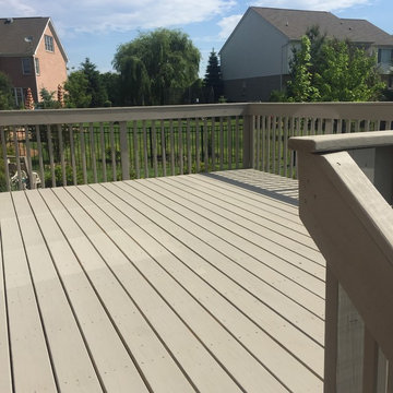 Revived Deck in Liberty Township, OH