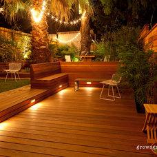 Contemporary Deck by Growsgreen Landscape Design