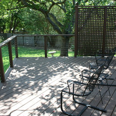 Contemporary Deck by Property Rehab Services