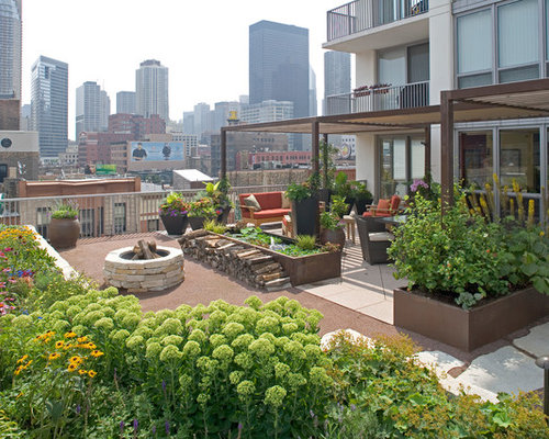 Best 15 Eclectic Rooftop Landscaping Ideas | Houzz