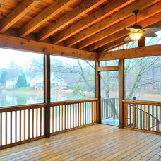 Traditional Deck by White Oak Renovations