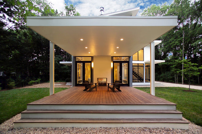 Contemporary Porch by Moore Architects, PC