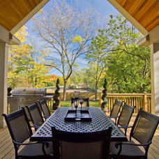 Traditional Deck by DCAM HOMES