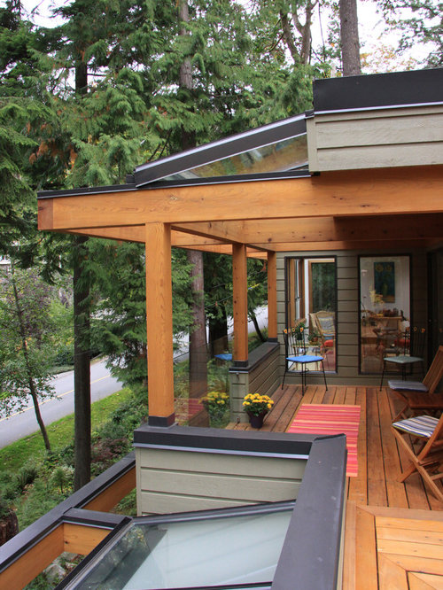 Glass Roof Deck Houzz