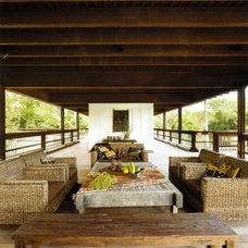 Rustic Porch by [STRANG] Architecture