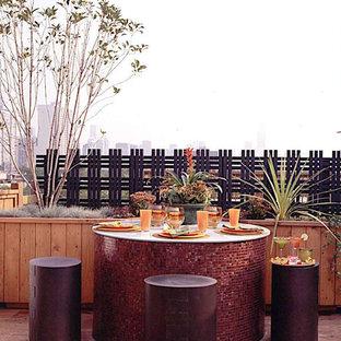 Idee per terrazze e balconi bohémian