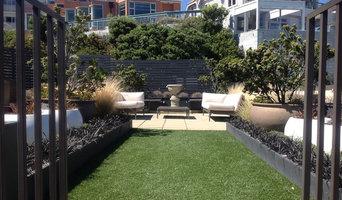 Roof Top Garden; formal layout