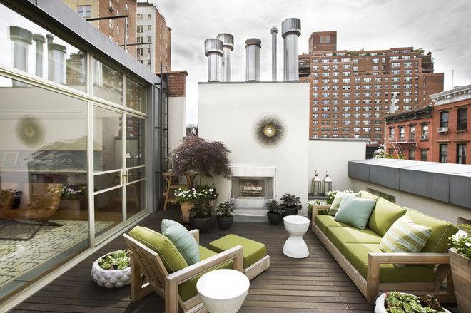 Contemporáneo Terraza y balcón by Dufner Heighes Inc