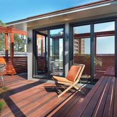 Modern Deck by Flavin Architects