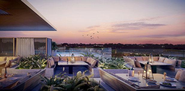Contemporary Deck by Sekisui House Australia