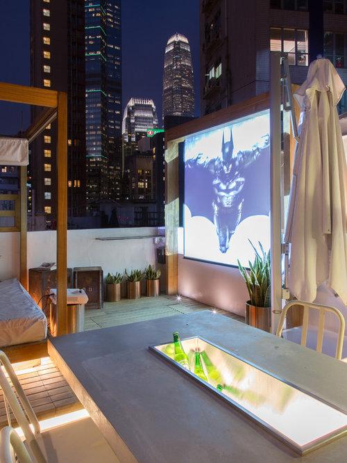 75 Industrial Rooftop Deck Design Ideas - Stylish Industrial Rooftop ...