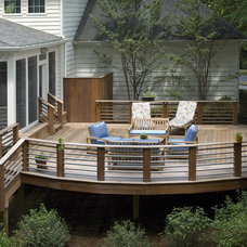 traditional deck by D G Liu Design and Home Remodeling - Dale Kramer