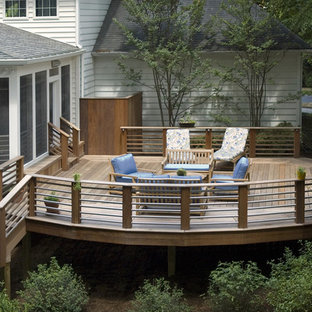 Deck - traditional deck idea in DC Metro with no cover