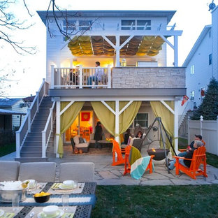 Eclectic deck photo in New York