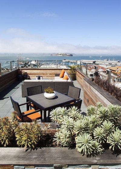 Modern Terrasse by Gast Architects