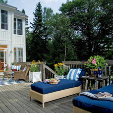 Rustic Deck by KellyBaron