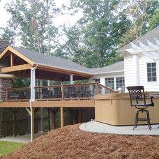 Rustic Deck by Blackberry Creek LLC